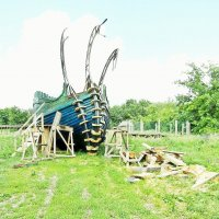 Строительство древнерусской ладьи :: Raduzka (Надежда Веркина)