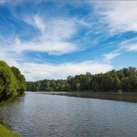 Верхний Царицынский пруд... :: Сергей Кичигин