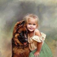 Цифровая живопись маслом :: Anna Denisova