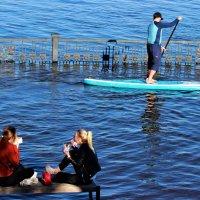 А мимо проплывает пароход.. :: Василий