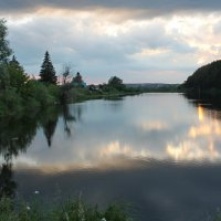 Вечер на реке :: tamara kremleva