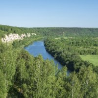 Подкаменная гора и река Сылва :: Алексей Сметкин