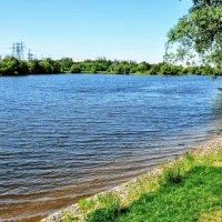 Широка река Москва... :: Анатолий Колосов