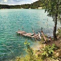 Голубое озеро :: Ольга Винницкая (Olenka)