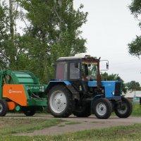 Машинно-тракторный агрегат. :: сергей