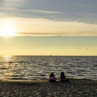 Закат на море :: Vlaimir