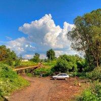 Пешеходный мостик (...дальше дороги нет) :: Константин