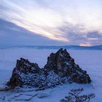 Скала на закате :: Константин Шабалин