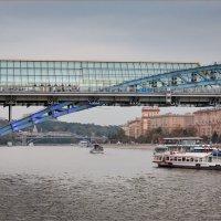 Вечер на Москве-реке... :: Сергей Кичигин