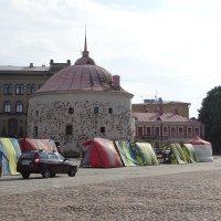Рыночная площадь — площадь в старой части города Выборга :: Sabina