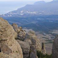 Вид с горы Демерджи :: Николо Пагани