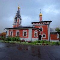 храм святителя николая мирликийского в сабурово(другой вариант) :: Александр Шурпаков
