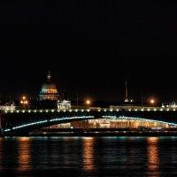 Мой родной город. Ночь над Невой. :: Алексей Трофимов