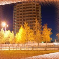Осень, улица, фонарь :: Valeriy Somonov