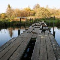 Осенний мост... :: mveselnickij