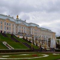 Большой Петергофский дворец и Большой каскад. :: Ольга