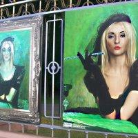 Певица Леся Ходуш и ... жена и муза художника Ольга :: Светлана З