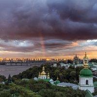 Радуга над Лаврой :: Дмитрий Бурнос