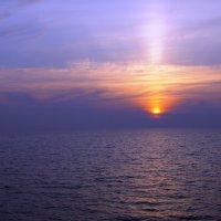 Восход над Ладогой :: Елена Сухенко