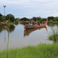 Старинные тайские лодки :: Владимир Шибинский
