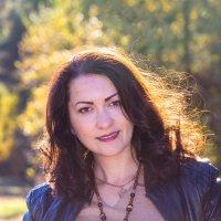 Анастасия... золотая осень... :: Ольга Соболева