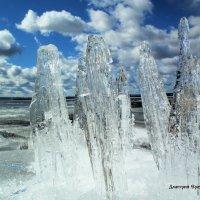 Ледяные утёсы :: Дмитрий Ерохин
