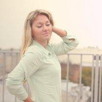 На крыше бывают не только карлсоны :: Анастасия Che