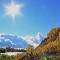 осень и солнце :: Виктор Гущин