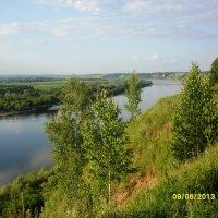Река Ока :: Елена Еремина