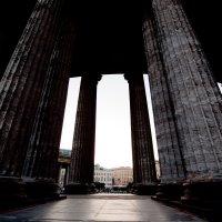 колонны, вид изнутри :: nadia sergeeva