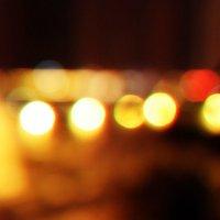 огни ночного города :: Татьяна Попова