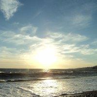 слушать море и никуда не спешить... :: Алина Мулик