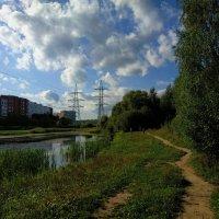 Сегодня небо облакастое, почти тучное :: Андрей Лукьянов