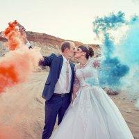 Красное и синее :: Дмитрий Подгорный