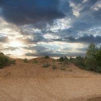 Песчаный ландшафт на Сычёвских карьерах :: Dmitriy Vargaz