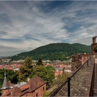 Heidelberg, Germany /Вид из замка на Старый город/ :: Bo Nik