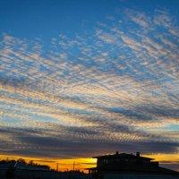 закат...облака.. :: Сергей Говорков