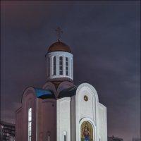 Храм Успения Пресвятой Богородицы (Блокадный Храм) на Малой Охте :: Валентин Яруллин