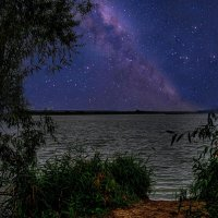 Когда звёздной ночью тоска и тревога нахлынут без видимых внешне причин... :: Виктор Малород