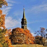 Башня Домского собора в хороводе осенних красках :: Aida10