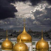 Золотые купола Москвы.... :: Виктор Перякин