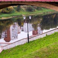 Город в зеркале природы :: Виктор Дашкевич