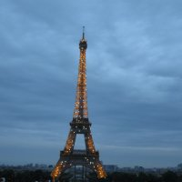 Великая француженка - Эйфелевая башня. :: Алиса Фадеева