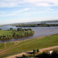 Река Кама. :: Ирина Киямова