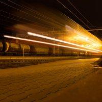 Прибытие поезда :: Артём Русак