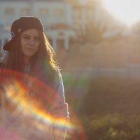 Женя и солнечные зайцы :: Артём Русак