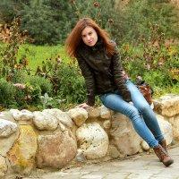 И ветер гулял в ее волосах... :: Chris Kosh