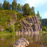 осень на реке :: Евгений Фролов