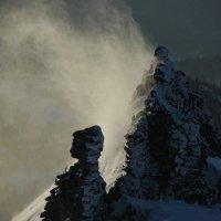 ветер в горах :: Евгений Фролов