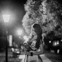 В свете фонарей :: Женя Рыжов